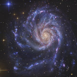 Pinwheel Galaxy, NGC 5457 Photographic Print by  Stocktrek Images