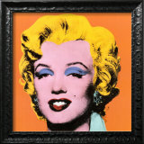 Shot Orange Marilyn, 1964 Art by Andy Warhol
