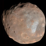 Mars Moon Phobos Photographic Print by  Stocktrek Images