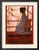 Puccini, Madama Butterfly Poster