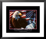 Patriotic Commitment Posters