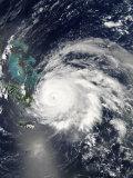 Hurricane Ike over Cuba, Hispaniola, and the Bahamas Photographic Print by  Stocktrek Images