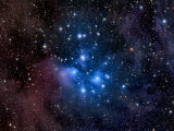 Pleiades, also known as the Seven Sisters Lámina fotográfica por Stocktrek Images