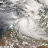 Tropical Cyclone Billy Photographic Print by  Stocktrek Images