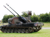 Gepard Anti-Aircraft Tank of the Belgian Army Photographic Print by Stocktrek Images