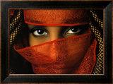 Veiled Tunisian Woman Posters by Matthias Stolt