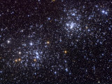 NGC 884, an Open Cluster, in the Constellation of Perseus Photographic Print by Stocktrek Images