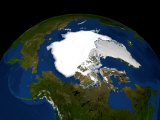 Arctic Sea Ice, September 21, 2005 Photographic Print by  Stocktrek Images