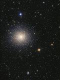 Great Globular Cluster in Hercules Photographic Print by  Stocktrek Images