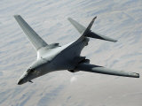 U.S. Air Force B-1B Lancer on a Combat Patrol over Afghanistan Photographie par Stocktrek Images 