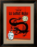 Le Lotus Bleu, c.1936 Print by Herg&#233; (Georges R&#233;mi) 