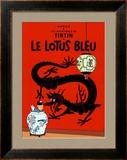 Le Lotus Bleu, c.1936 Print by  Hergé (Georges Rémi)