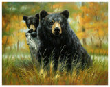 Mother and Cub Posters af H. Kendrick