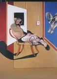 Figura Seduta Posters av Francis Bacon