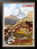 Swiss Alps, Zermatt Matterhorn Posters by Anton Reckziegel
