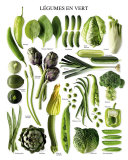 Green Vegetables Prints
