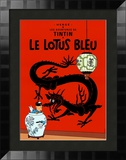 Le Lotus Bleu, c.1936 Prints by Herg&#233; (Georges R&#233;mi) 