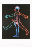 Marching Man, c.1985 Poster von Bruce Nauman