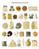 Italian Cheese Plakaty