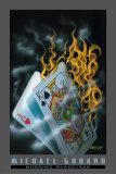 Burning Blackjack Posters av Michael Godard