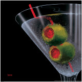 Classic Martini Art by Michael Godard