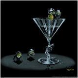 Gangster Martini Poster av Michael Godard