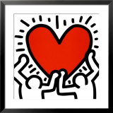 Untitled Poster by Keith Haring