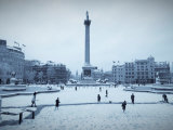 Trafalgar Square, London, England, UK Photographic Print by Alan Copson