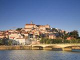 Rio Mondego and Ponte De Santa Clara, Coimbra, Beira Litoral, Portugal Photographic Print by Michele Falzone