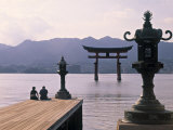 Tori, Miyajima, Honshu, Japan Photographic Print by Demetrio Carrasco