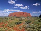 Ayers Rock, Northern Territory, Australia Photographie par Alan Copson