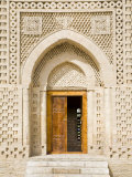 10th Century Ismail Samani Mausaleum, Samani Park, Bukhara, Uzbekistan Photographic Print by Jane Sweeney