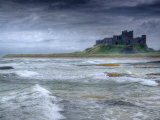 Bamburgh Castle, Northumberland, England, UK Photographic Print by Alan Copson