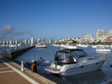 Port and Sailing Boats, Punta Del Este, Uruguay Photographic Print by Demetrio Carrasco