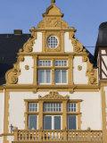 Ornate Building, Bernkastel-Kues, Mosel River Valley, Rhineland-Palatinate, Germany Photographic Print by Walter Bibikow