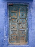 Traditional Blue Architecture, Jodhpur, Rajasthan, India Photographie par Doug Pearson
