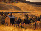 Farm, Bend, Oregon, USA Photographic Print by Walter Bibikow