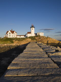 Eastern Point Lighthouse, Gloucester, Cape Ann, Massachusetts, USA Photographic Print by Walter Bibikow