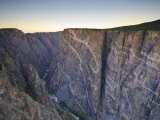 Canyon and Stratified Rock, Black Canyon of the Gunnison National Park, Colorado, USA Photographic Print by Michele Falzone