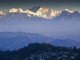 Darjeeling and Kanchenjunga, West Bengal, India Photographie par Jane Sweeney