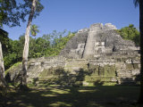 Highest Temple in Lamanai, Lamanai, Belize Photographic Print by Jane Sweeney