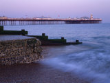 Palace Pier, Brighton, East Sussex, England, UK Photographic Print by Jon Arnold
