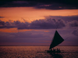 Traditional Sailing Boats, Lombok, Indonesia Photographic Print by Neil Farrin