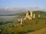 Corfe Castle, Dorset, England Photographic Print by Steve Vidler