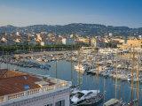 Cannes, Old Town Le Suquet, Vieux Port, Provence-Alpes-Cote D'Azur, France Photographic Print by Alan Copson