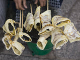 Hand Rolled Pancakes, Old Town, Dali, Yunnan Province, China Photographic Print by Walter Bibikow