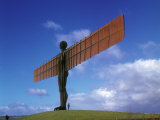 Angel of the North, Gateshead, Tyne and Wear, England Photographic Print by Robert Lazenby