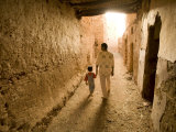 Passageway, Old City of Mut, Dakhla Oasis, Egypt Photographic Print by Michele Falzone
