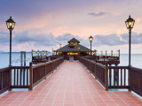 Pier, Pulau Langkawi, Langkawi Island, Malaysia Photographic Print by Gavin Hellier