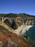 Bixby Bridge, Big Sur, California, USA Photographic Print by Steve Vidler